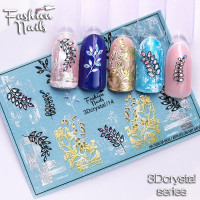 Слайдер-дизайн Fashion Nails, 3D Crystal (14)