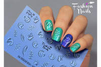 Слайдер-дизайн Fashion Nails, AEROgraphy №15