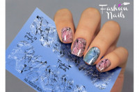 Слайдер-дизайн Fashion Nails, AEROgraphy №19