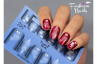Слайдер-дизайн Fashion Nails, AEROgraphy №20