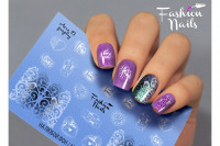 Слайдер-дизайн Fashion Nails, AEROgraphy №21