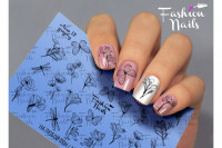 Слайдер-дизайн Fashion Nails, AEROgraphy №12